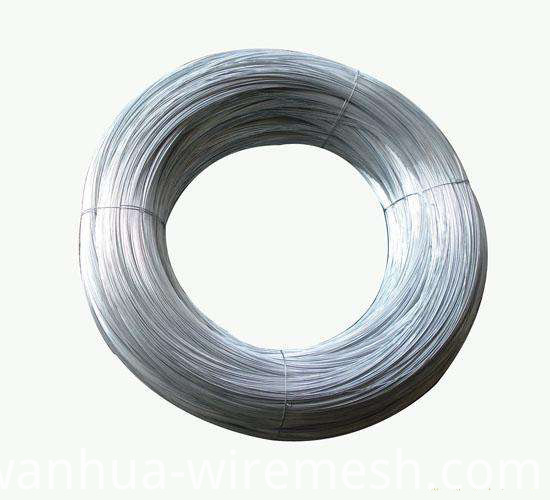 2.7mm Low Carbon Steel Wire Galfan Wire